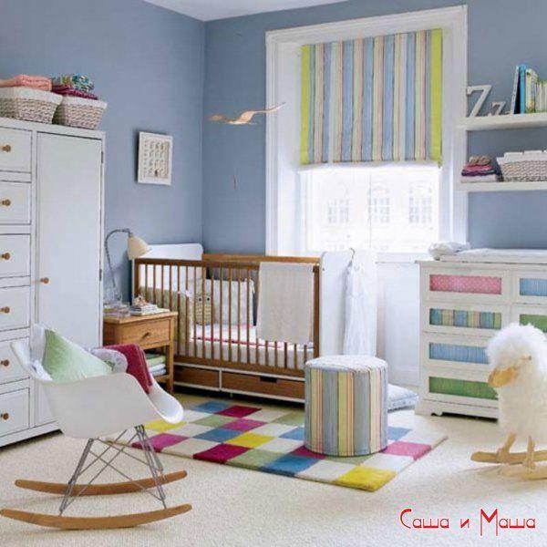 Інтер`єр маленької дитячої кімнати (фото)