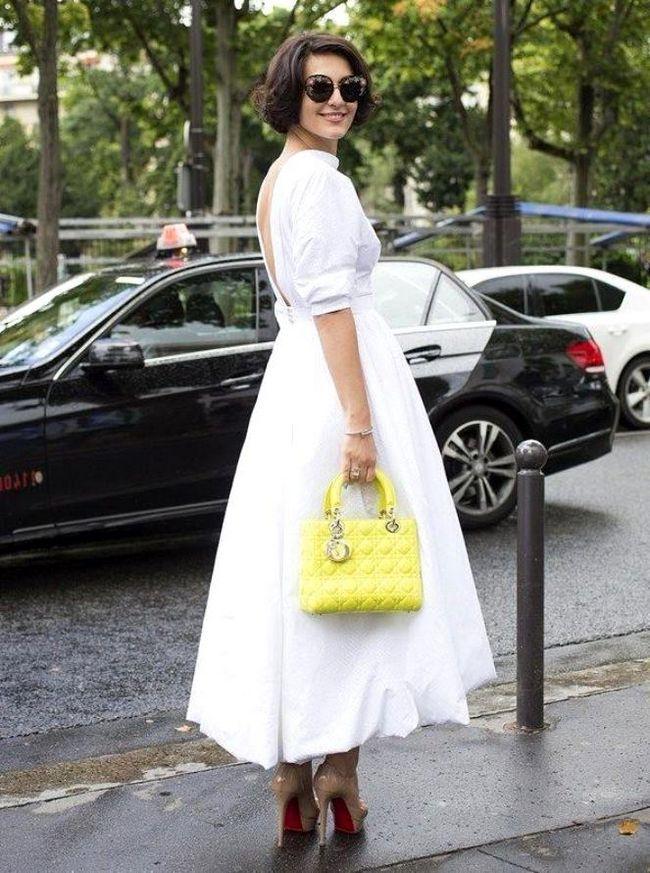 біле вбрання