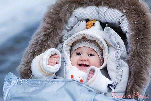 Як гуляти взимку з новонародженим