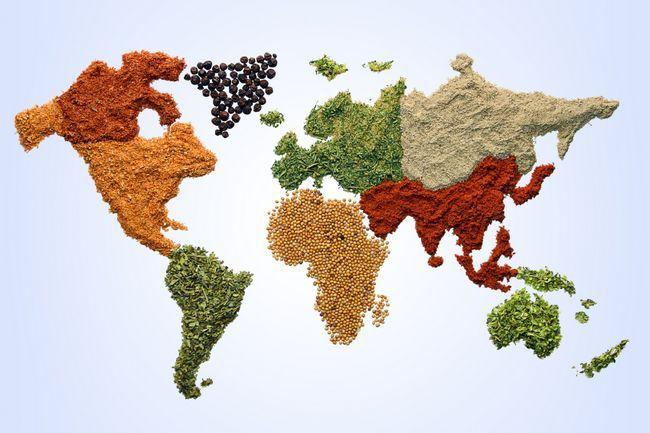 Кухні різних країн світу