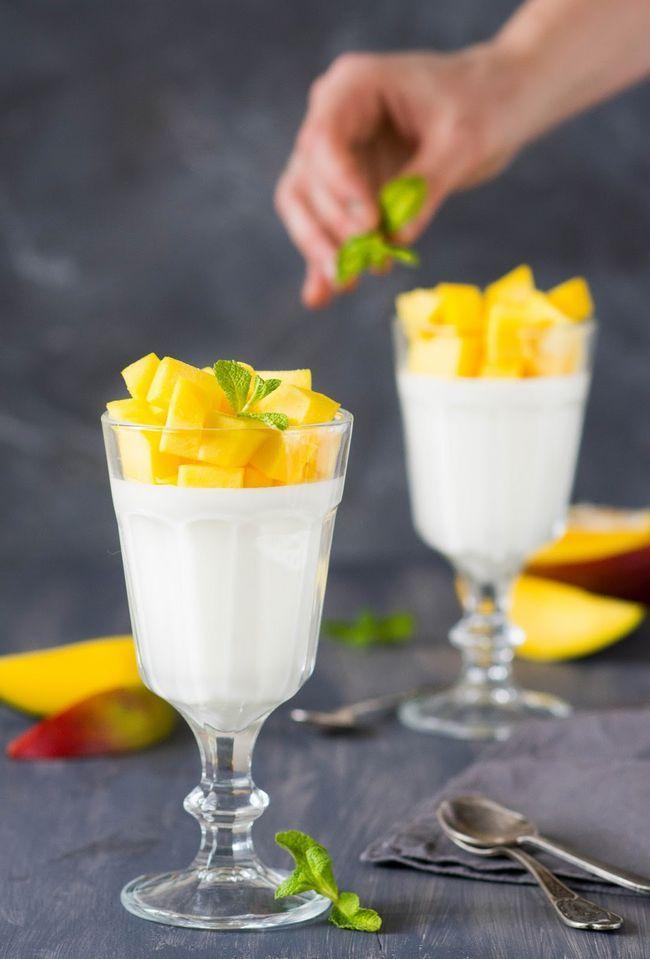 десерт на кислому молоці
