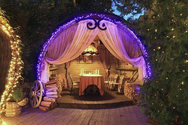 романтичний вечір на природі