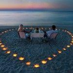 Романтика в оточенні свічок