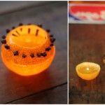 Свічка з апелісіна