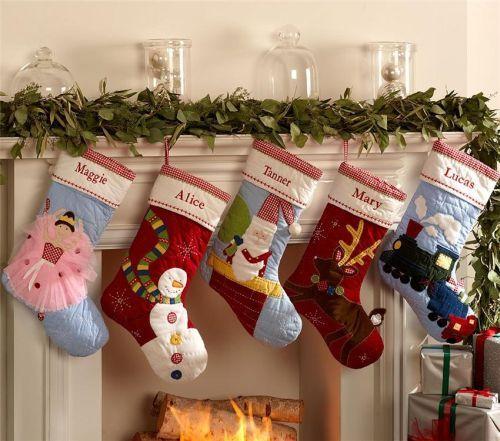 Різдвяні шкарпетки своїми руками