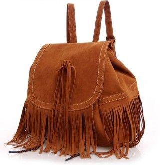 м`який рюкзак із замші