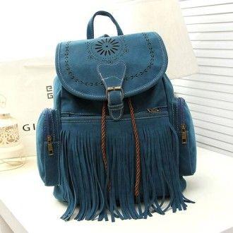 модний замшевий рюкзачок