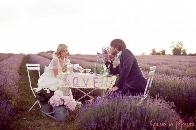 жених в весіллі в стилі прованс