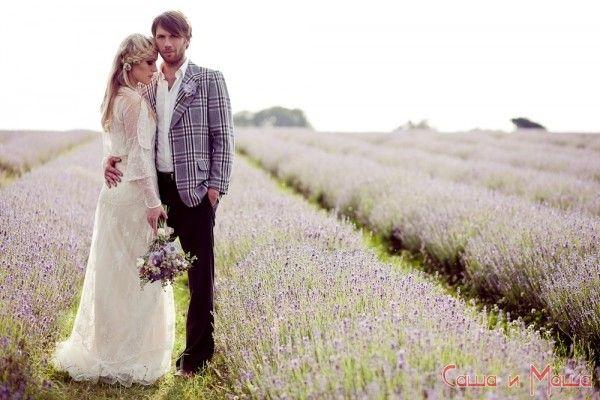 образ нареченого і нареченої у весіллі прованс