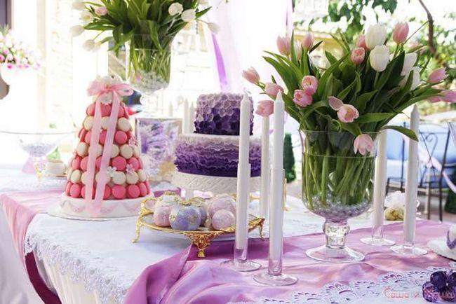 оформлення весілля в стилі Прованс