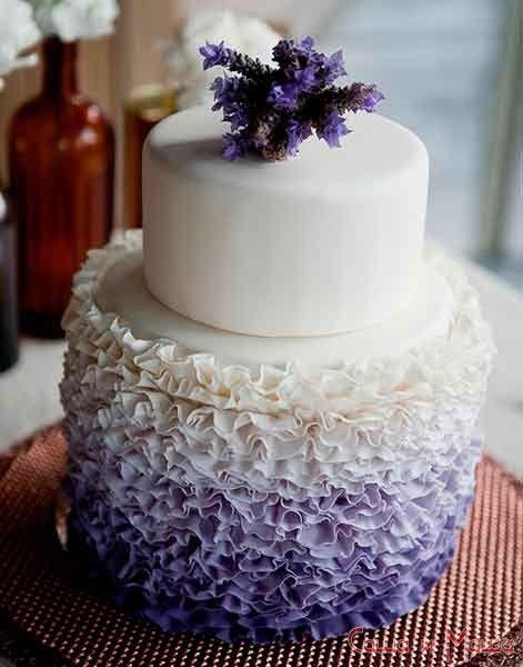 весільний торт в стилі прованс