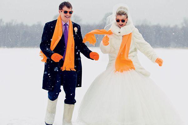 Весілля взимку: ідеї, оформлення, тонкощі