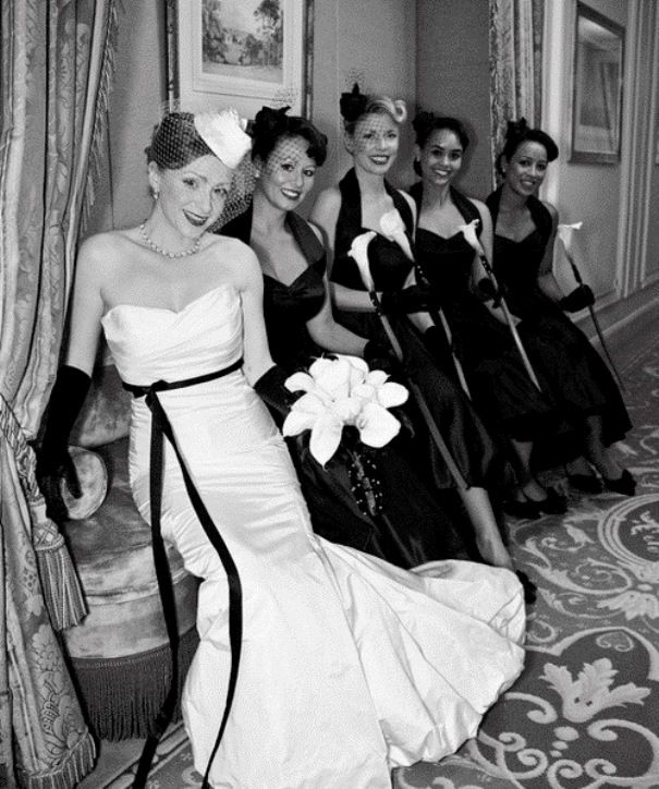 Ретро-плаття нареченої