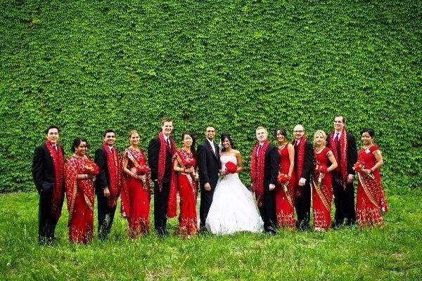 яскрава весілля