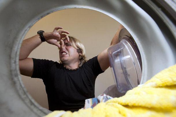 Видаляємо запах усередині пральної машини