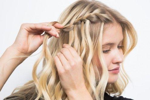 водоспад коси