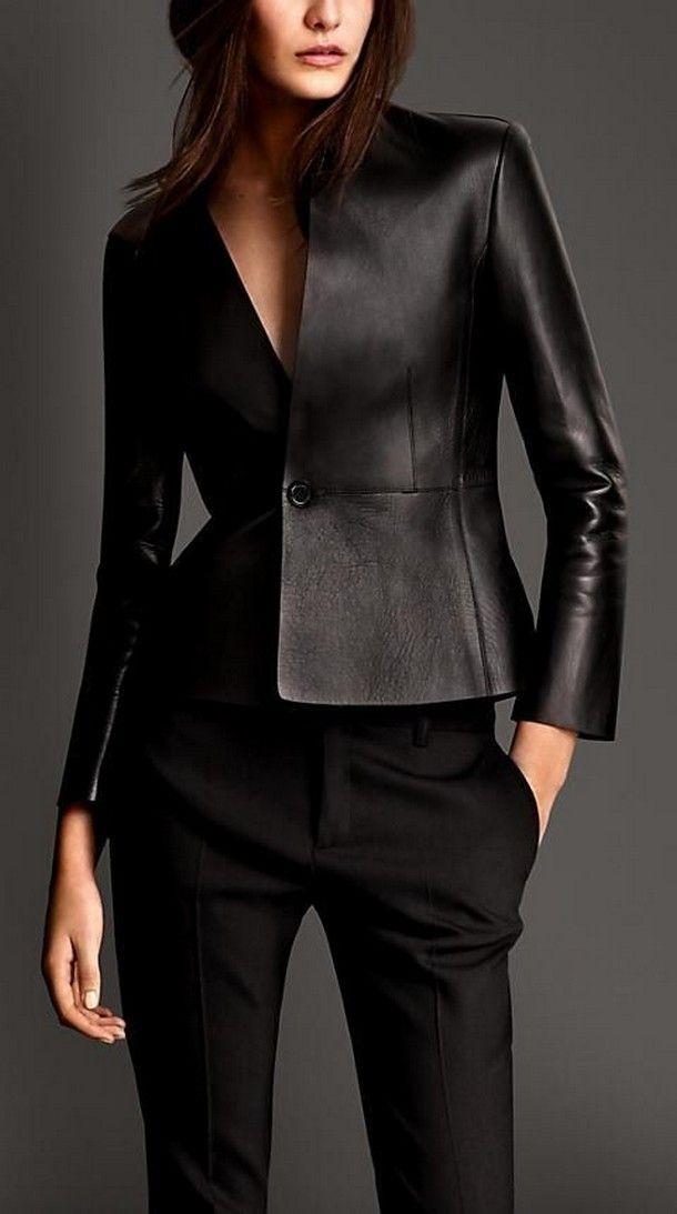 Жіночі шкіряні куртки: мода без обмежень