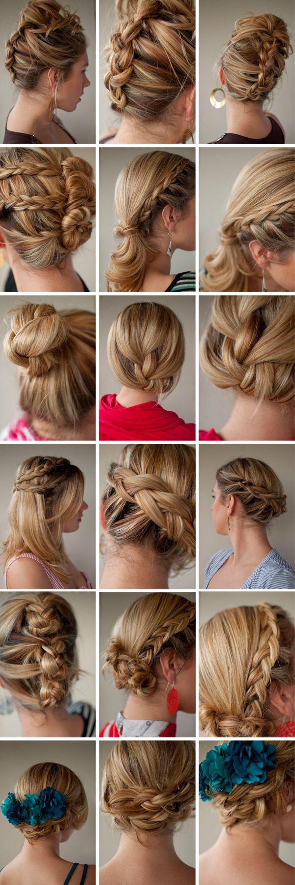 Волосся середньої довжини