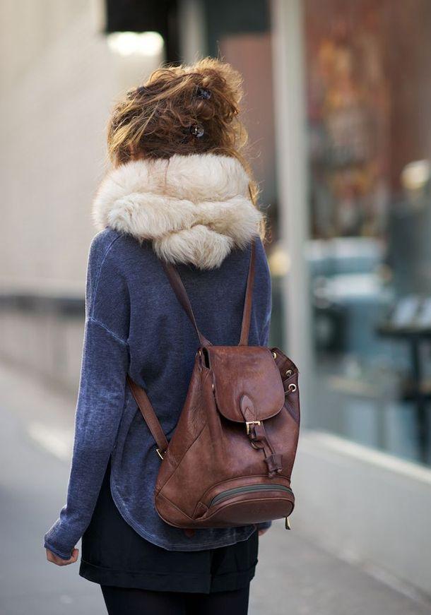 Жіночий рюкзак - це ще й стильно