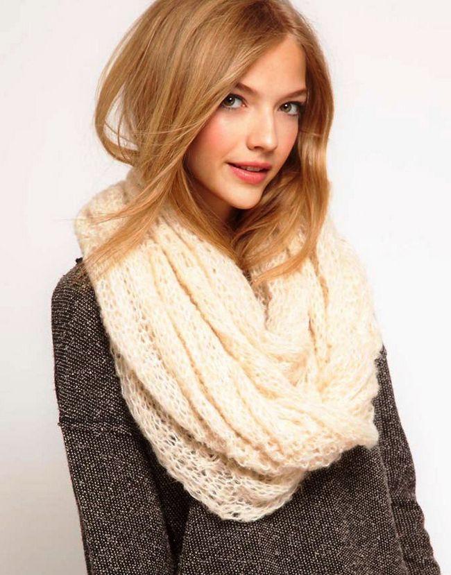 ажурний шарф